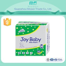 Economic Quality Joy Brand Baby Diaper Manufacturing In China And Export to South Africa