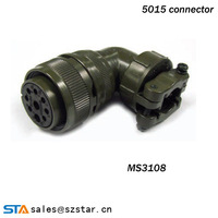 IP67 90 degree aerospace military electrical connector
