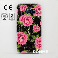 Phone Cases print factory directly supply hot selling plastic pattern case for samsung galaxy s6 wholesale