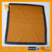 High Quality fashion square twill silk and polyester printed scarf