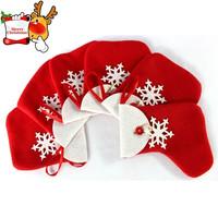 Christmas Hanging Ornaments Christmas Decoration Santa Claus Christmas Socks,Snowflakes candy socks