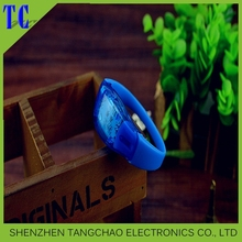 Party & event items led flashing sound activetion silicone bracelets