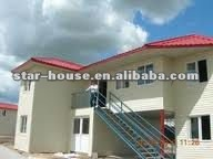 Self Sustaining modular house for villas(green and easily assembled)
