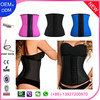 Different Colors Women Training Fitness Latex Corset