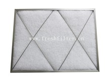 G2-G4 Synthetic fiber pannel air filter for air purification(Manufacturer)