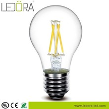 120v E26 UL certificate All glass no plastic Dimmable LED Filament Bulb ul