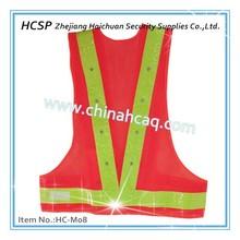 LED Flash Reflective Vest