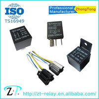 12v 24v 4pin 5pin 30a 40a 60a 80a auto relay manufacturer