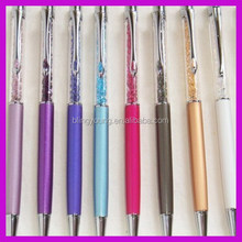 Wholesale bling rhinestone pen with crystal