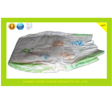 Disposable baby diaper manufacturer in china with elastic side panel