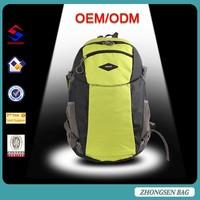 Fashion good quality outdoor sport bagpack / waterproof mountaineering backbag
