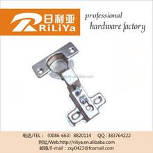 One way self locking heavy duty door concealed hinge for furniture