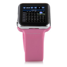 2015The new schedule of Facebook Twiter E-mail and remind function of intelligent smart watch mobile phones