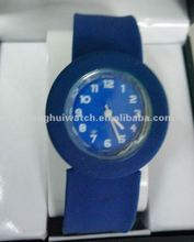 colors silicone slap cheap wrist Watches Gift for sale (CH12381)