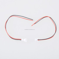 50 Pairs/Lot JST 1.25MM 2P Male and Female Butt Air Terminal Wire Harness Cable Patch Cord UL1571