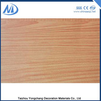 Antibacterial ACP interior wood paneling 4x8