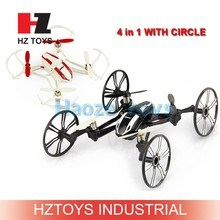 Amphibious U41 rc drone 4 in 1 new toys 2.4g 4ch rc skywalker quad copter with HD camera.