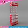MXJ044 snacks metal display rack / fudge shelf display / soft sweets metal wire rack