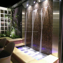 Modern Indoor Water Fountain, Interior Waterfall For Home Hotel Decoration