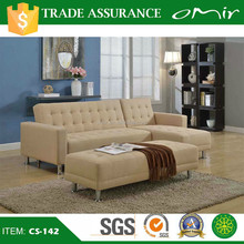 Living Room Home Furniture Fabric Corner Bed