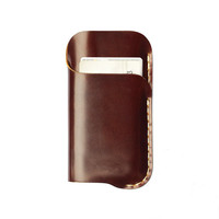 New Design For iphone 6 Leather Case Fashion Cowhide Genuine Leather Cell Phone Case Protective Sleeve/Wallet