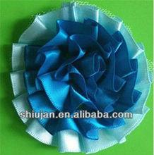 multicolor hecha a mano de la cinta de malla de flores artificiales