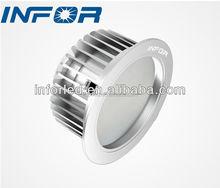 curve design reduce glare soft light color smd led ceiling down light