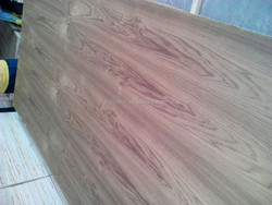 crown cut teak plywood to make door skin to Middle east market