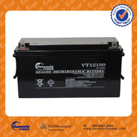 made in china wholesale price of sealed lead acid 24v 28v 12v 150ah solar battery for solar hot sale in American