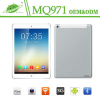 New 9.7inch IPS RAM 1G ROB 16G MQ971 Camera Front 0.3M Back 5.0M GPS Quad Core MTK8382 android tablet pc 10 inch