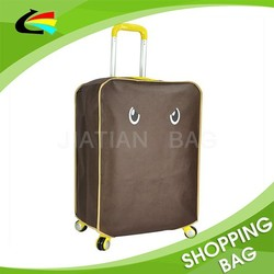 Customized 120GSM Non Woven Luggage Cover Bag Travel Suitcase Protector