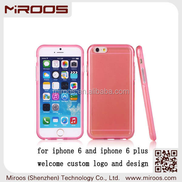 2014 china factory MIROOS OEM high quality slim 2 in 1 hybrid cute mobile phone cover for iphone 6, wholesale for iphone 6 cover