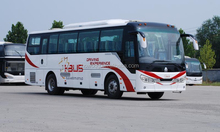 best selling SINOTRUK HOWO 38 seats travel BUS JK6907H low price with high quality