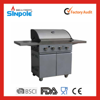 2015 New Patent Sinpole Gardening Supplies Butane Gas BBQ