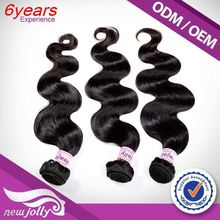 Factory hair extension wefts bulk wholesale,2015 Natural Bouble Draw Qingdao Hot Hair Products Ltd Department 4 6A