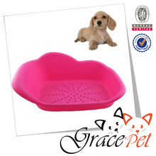 Wholesale high quality small dog and cat pet plastic bed