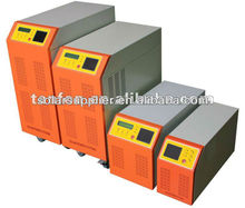 Innovative 2 LCD displays hybrid solar inverter with controller from 300W to 10KW
