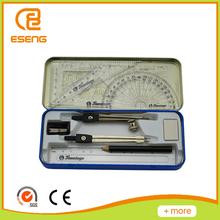 Math Tool Sets Including Rulers/ Pencil/Compass/Eraser/Sharpener