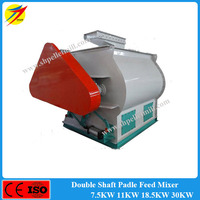 Easy operation high efficiency animal feed mill mixer