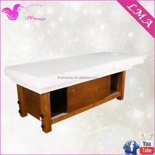 Best sell excellent quality electric jade wooden spa spa bed MD57