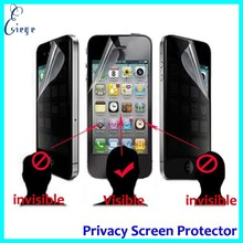 Mobile accessories Factory wholesale Anti-spy screen protector for iphone 6 , privacy screen protector