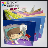 High Quality Children Colorful Book Printing, Professional Printing Board Book in OEM Service