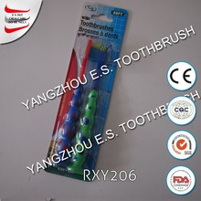 disposable toothbrush cute spot with suction bottom kids toothbrush