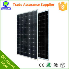 A grade cells 130W mono solar panel price list