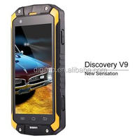 Original Discovery V9 IP68 Smartphone Waterproof Dustproof Shockproof Android 4.4 MTK6572 WCDMA 3G Mobile Phone