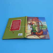 Cartoon picture children story book printing/China cardboard book printing