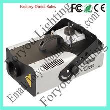 remote control new style 1200w smoke/fog machine
