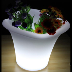 led flowerpot comfortable seat for sale