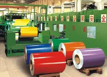 prepainted color coated galvanized steel coils/ppgi
