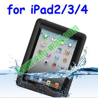 ABS+PET Material Shockproof Waterproof Case for iPad 2/3/4/New iPad